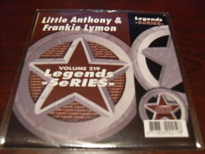 LEGENDS KARAOKE CD+G VOL 219 LITTLE ANTHONY & FRANKIE LYMON NEW