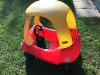 Little tikes cosy coupe car. - SOLD