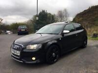 56/2007 AUDI S3 2.0 TFSI QUATTRO 4WD FULLY LOADED MINT CONDITION LOW MILES HPI CLEAR VXR GTD 335D !