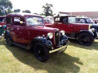 vintage car. Austin 7 Ruby