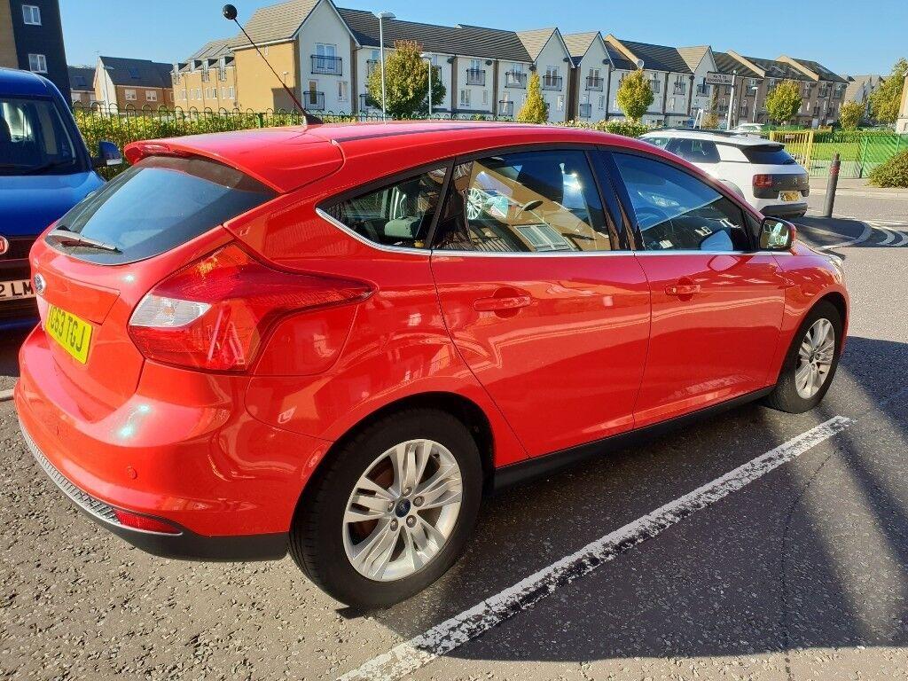 Red Ford Focus >> Red Ford Focus Titanium 2013 Automatic In Dagenham London Gumtree