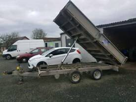 Ifor williams 12x6.6 drop side tipping trailer tipper