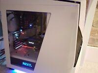 Custom gaming setup (PC, Monitor, Keyboard and mouse)
