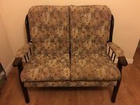 A set of double and two single sofa chairs for sale