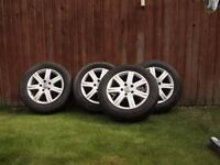 """Audi Q7 wheels 18"""" with winter tyres"""