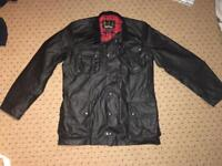 Barbour International Wax Jacket Size Small in Black, barely used