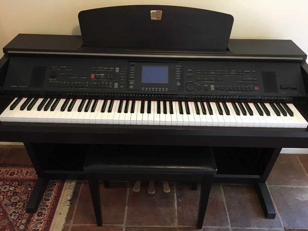 yamaha clavinova cvp 303 digital piano in dark rosewood colour and in perfect condition in st. Black Bedroom Furniture Sets. Home Design Ideas