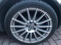Audi A4 DTM Alloy Wheels With Tyres