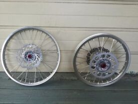 Honda CRF wheels new unused