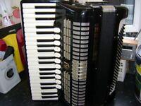 hohner verdi v cb 120 bass accordion musette tuned