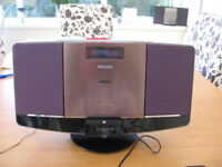 Digital Stereo Radio/CD player, Phillips DCB2077, CD player on blink
