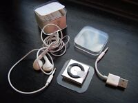 Brand New Apple iPod Shuffle 4th Generation - MP3 (Music) Player - Boxed & Sealed - Apple Earphones