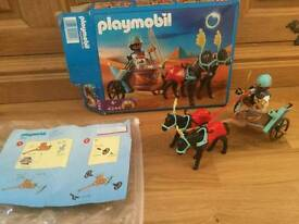 Playmobil 4244. Egyptian Chariot. 100% complete