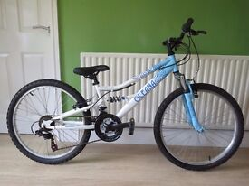 """EXCELLENT CONDITION...GIRLS 24"""" BIKE...""""APOLLO OCEANA""""..FULLY WORKING,READT TO RIDE AWAY TODAY."""