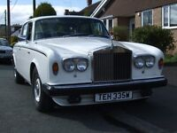 Rolls Royce Silver Shadow 2 1980 petrol low miles 29850