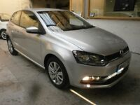 2015 VOLKSWAGEN POLO 1,2 AUTOMATIC, START STOP, 9000 MILES, VERY CLEAN CAR, DRIVES LIKE NEW