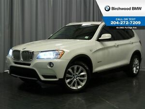 2013 BMW X3 35i Navigation Premium & Tech Pack!