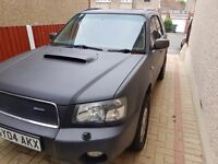 Subaru Forester 2.0xt Prodrive performance package