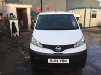 NISSAN NV 200.2014.LOW MILES.1 OWNER.EXCELLENT RUNNER.READY FOR WORK