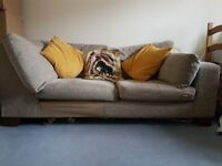 Part corner sofa