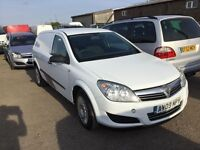 2009 Vauxhall Astra diesel van in vgcondition lovely driver one owner history 1years mot any trial