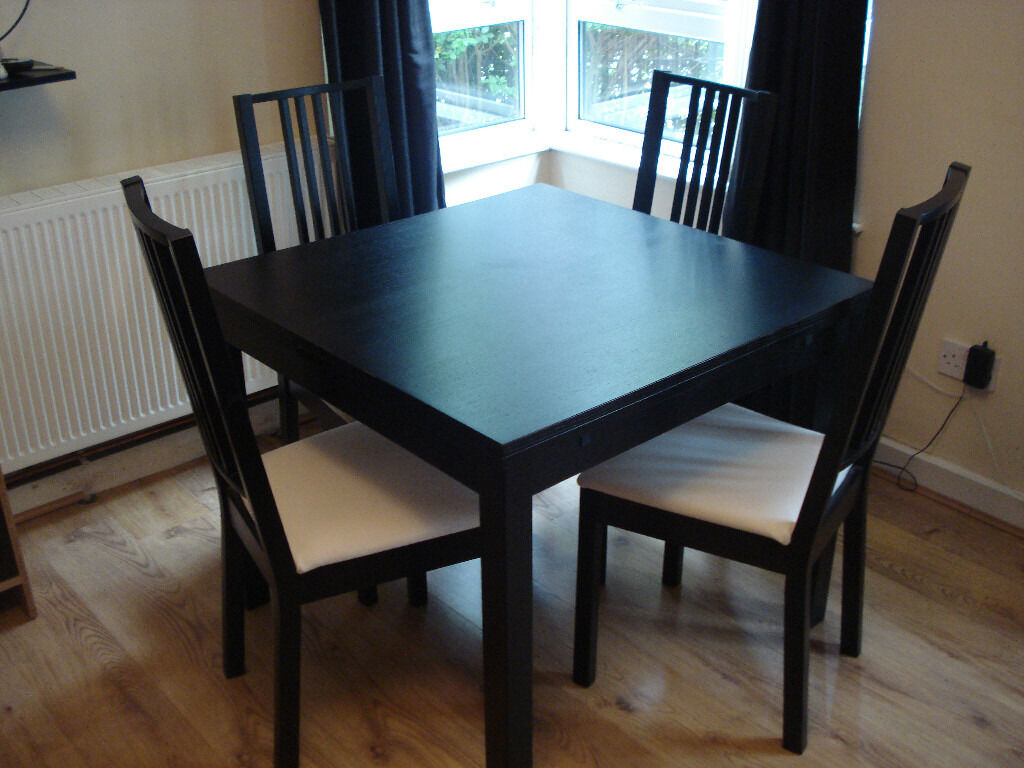 Ikea Bjursta Extendable Table 4 Chairs in Belfast City  : 86 from www.gumtree.com size 1024 x 768 jpeg 115kB