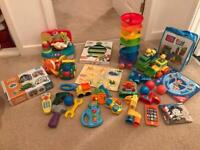 Bay/toddler toy bundle