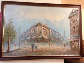 Oil painting (Caroline Burnett)