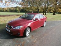 Lexus IS200d SE (improved engine version from Lexus) with fresh MOT until February 2018