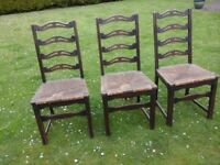 Dining room chairs - Ercol