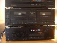 Old Skool Technics Separates For Sale - Amp - CD - Tapedeck - Tuner