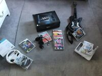 Black Wii Sports Resort plus lots more extra s and games
