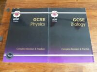 Excellent condition GCSE Biology and Physics complete revision & Practice guide for sale  Norwich, Norfolk
