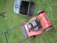 Petrol Lawnmower - with grass box
