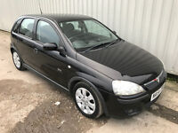 65k miles only!!! 2004 (54) Vauxhall Corsa 1.2 SXI - 9 months MOT - RARE 5 door in best colour BLACK