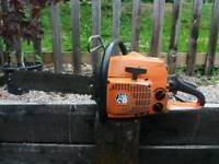 Husqvarna chainsaw 263 CD, spares or repair