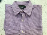 Ralph Lauren Fitted Shirt Men's 16.5 Collar (XXL)