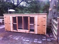 Double Dog Kennel and Run