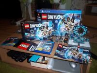 PS4 LEGO DIMENSIONS STARTER PACK With special edition SUPERGIRL