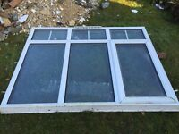 UPVC Double glazed window for sale with vent