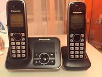 Panasonic cordless phone with answer machine