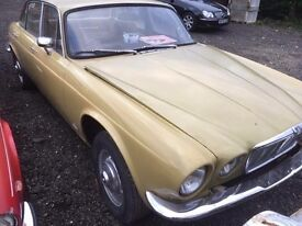 WANTED VINTAGE/CLASSIC JAGUARS & DAMILERS any condition
