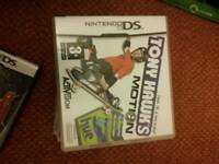 Two Tony Hawkins DS games