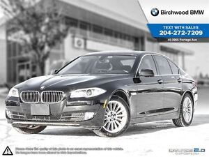 2013 BMW 5 Series 535i xDrive Executive Package Clean Car Proof!