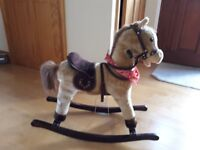 a rocking horse £15
