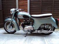 Classic 1963 Triumph 3 TA Motorcycle-350cc (Twenty One)