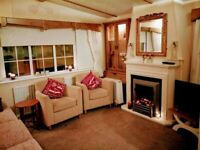 Cosy Cottage Caravan for hire Sandy Bay Holiday Park