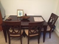 Moving Sale! Table and 4 chairs