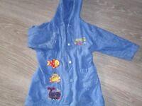 Blue Sea dressing gown age 3/4 yrs