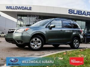 2014 Subaru Forester 2.5i No Accidents, One Owner
